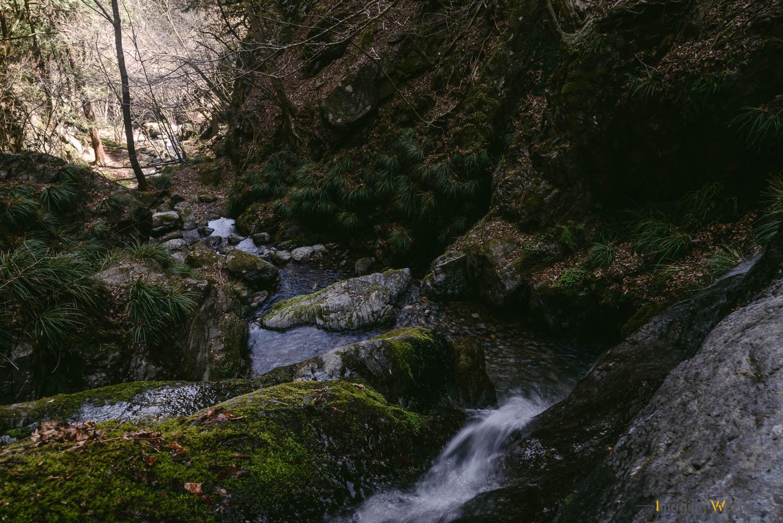 渓谷を表現するための構図とは?